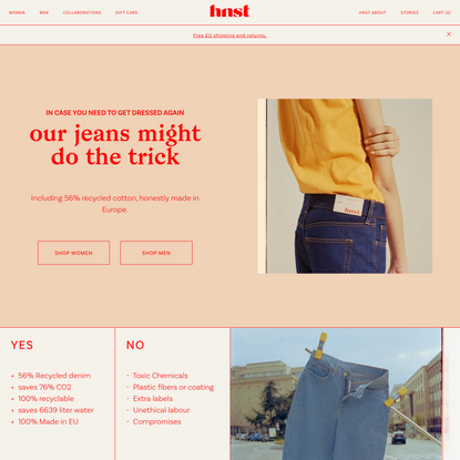 HNST jeans - HNST Jeans