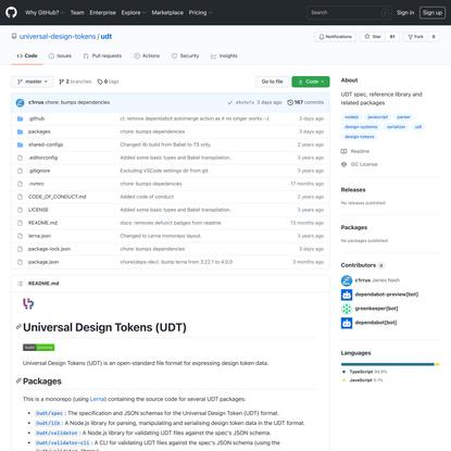 universal-design-tokens/udt