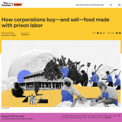 How corporations buy—and sell—food made with prison labor