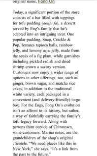 Fong On, from the SlowDown newsletter