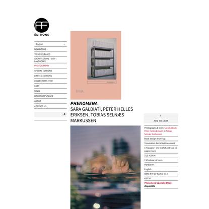 Phenomena   André Frère Éditions