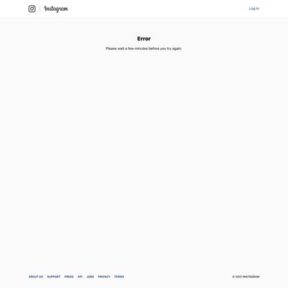Page Not Found • Instagram