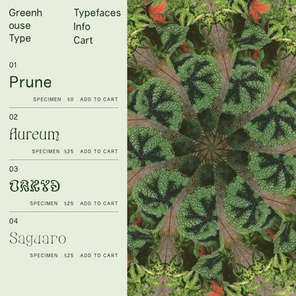 Greenhouse Type