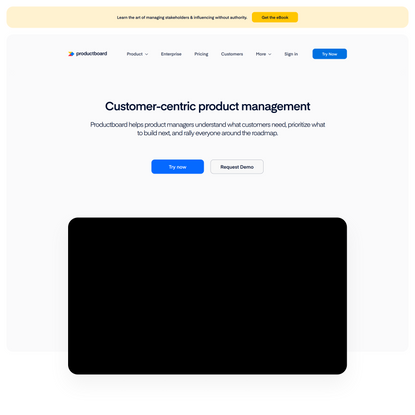 Product Management Software | Productboard