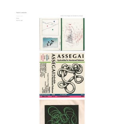 Graphic work | Natal's website