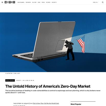 The Untold History of America's Zero-Day Market