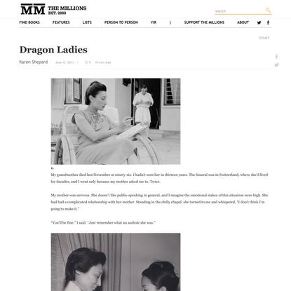 Dragon Ladies - The Millions