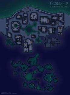 Glogdolp: A Kuo-Toa Village [56x76]