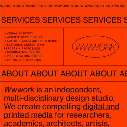 WWWORK.STUDIO