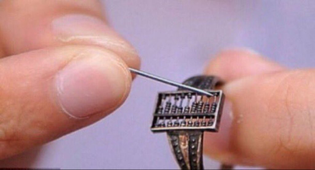 300 yr old Qing Dynasty abacus ring