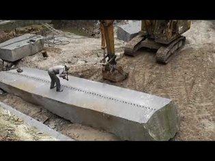 Ninja technique of splitting stone