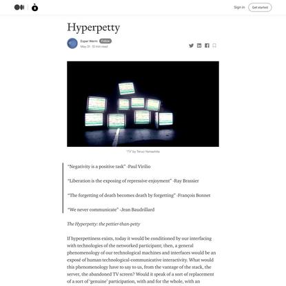 Hyperpetty