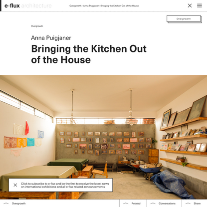 Bringing the Kitchen Out of the House