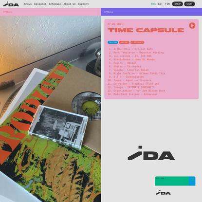 Time Capsule 2021-05-27   IDA Radio