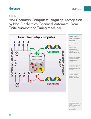 How Chemistry Computes: Language Recognitionby Non-Biochemical Chemical Automata. FromFinite Automata to Turing Machines
