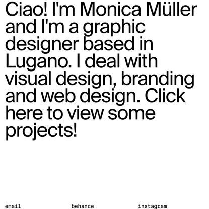 MAKE VISUAL | Monica Müller