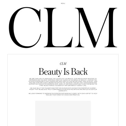 CLM — Artist Management
