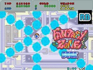 1986 [60fps] Fantasy Zone No shot Loop1 (TwinBombs JetEngine only)