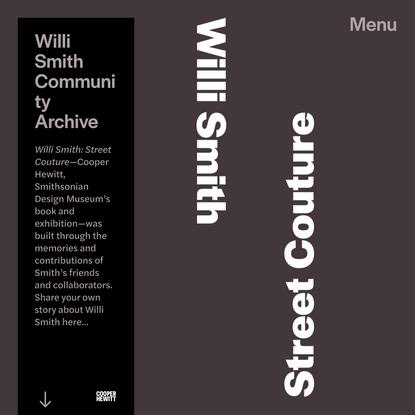 Willi Smith Community Archive