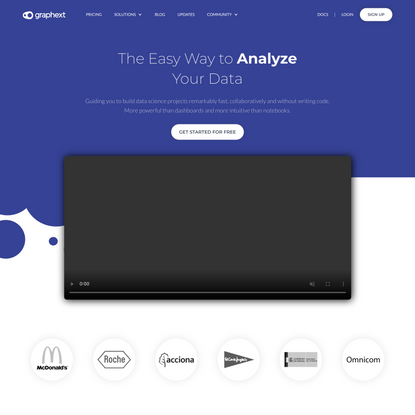 Graphext | The Easy Way to Analyze Your Data