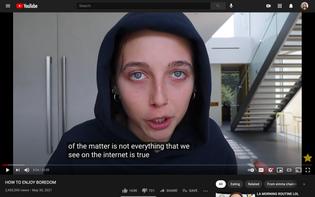 Google sponsors Emma Chamberlain to talk about fake news