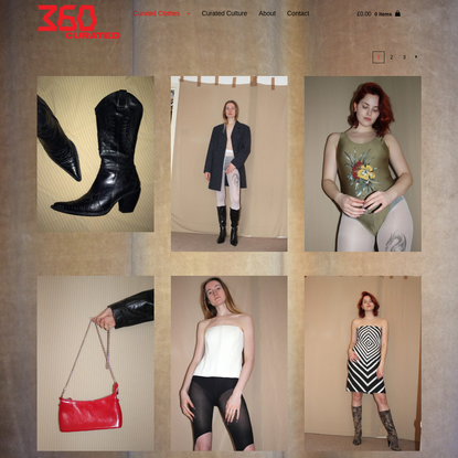 shop - 360 CURATED