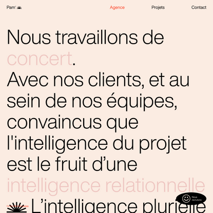 Agence web Toulouse, Pam — Nos services