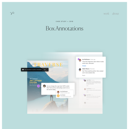 Adding Annotations to Box