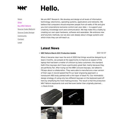 MNT Research GmbH —