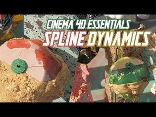 Cinema 4D Essential Techniques : Use Spline Dynamics like a Pro