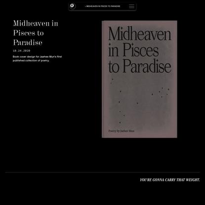 Midheaven in Pisces to Paradise – Nate Mandreza