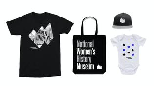 Paula Scher / Pentagram, National Women's History Museum (2021)