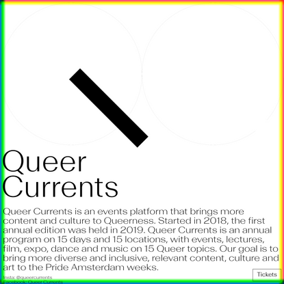 Queer Currents
