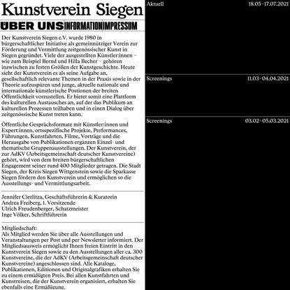 Kunstverein Siegen