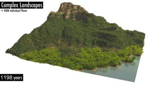 Synthetic Silviculture: Multi-scale Modeling of Plant Ecosystems