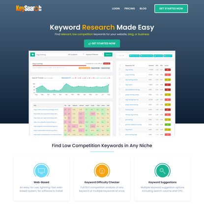 Keysearch: Keyword Research Tool | SEO Analysis & Difficulty Checker
