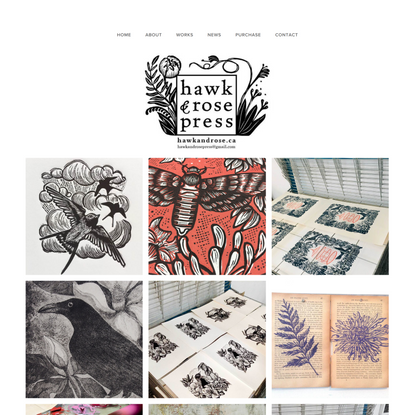 Hawk and Rose Press