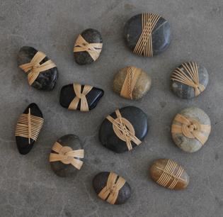 Wrapped Rocks | Shizu & Karen Okino