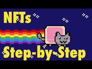 NFT Guide - How to sell your first NFT the EASY WAY for Digital Artists