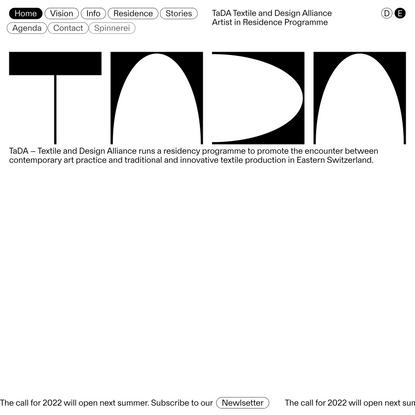 TaDA – Textile and Design Alliance