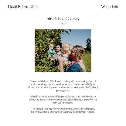 Airbnb Brand Library — David Robert Elliott