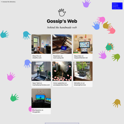 Gossip's Web Blog