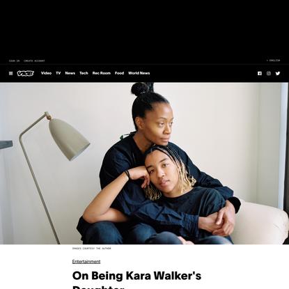 On Being Kara Walker's Daughter