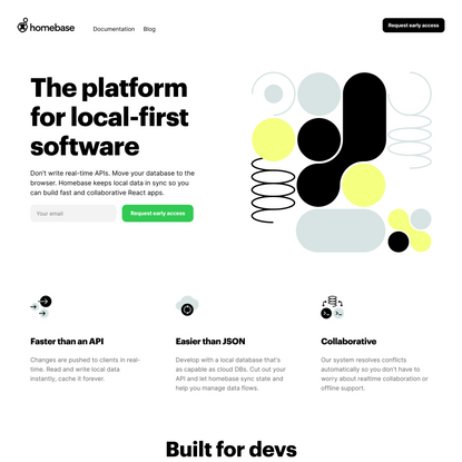 Homebase | The platform for local-first software