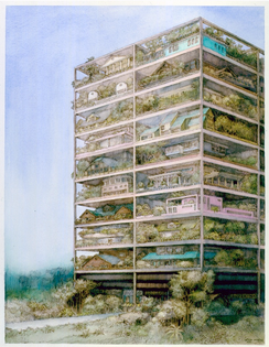 Highrise of Homes, SITE (James Wines), 1981