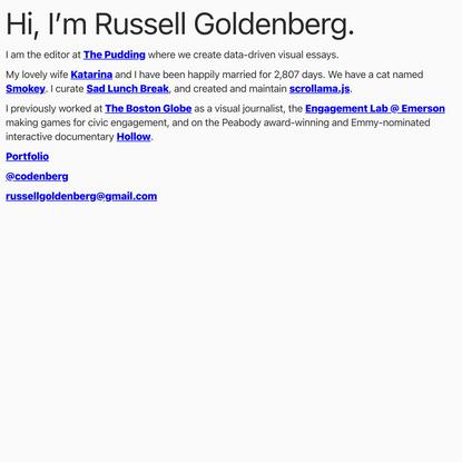 Russell Goldenberg