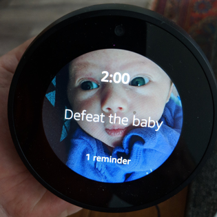 defeat the baby