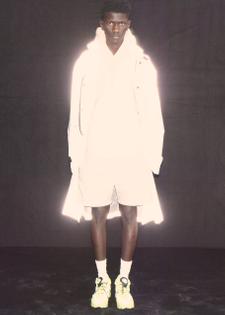 032c Système de la Mode Reflective Gradient Parka