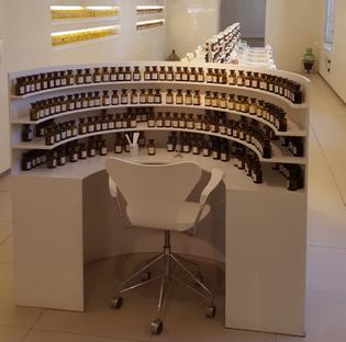 Perfumer's table
