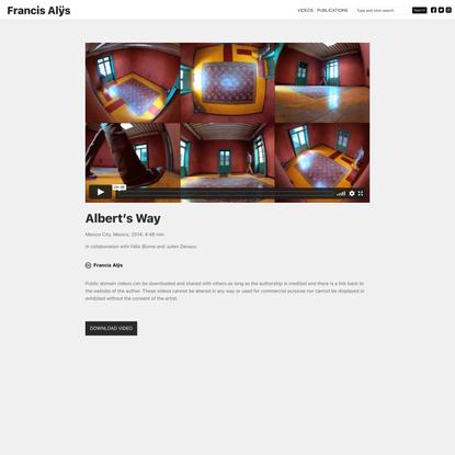 Albert's Way